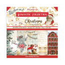Stamperia 8x8 Inch Paper Pack Romantic Christmas