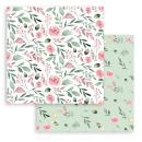 Stamperia 8x8 Inch Paper Pack Christmas Rose