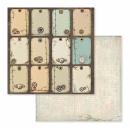 Stamperia 12x12 Maxi Paper Pad Voyages Fantastiques