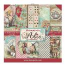 Stamperia 12x12 Paper Pad Alice
