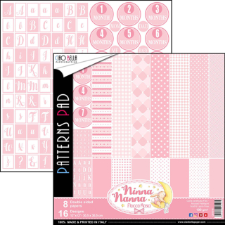 Ciao Bella 12x12 Patterns Pad Ninna Nanna Girl