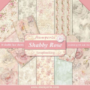 Stamperia 12x12 Inch Paper Pack Shabby Rose