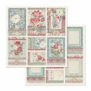 Stamperia 12x12 Inch Paper Pack Grand Hotel
