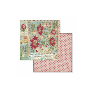 Stamperia 8x8 Inch Paper Pack Alice