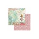 Stamperia 8x8 Inch Paper Pack Alice