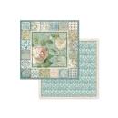 Stamperia 8x8 Inch Paper Pack Azulejos de Sueno