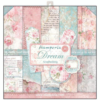 Stamperia 12x12 Inch Paper Pack Dreams