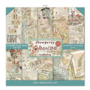 Stamperia 12x12 Inch Paper Pack Imagine