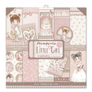 Stamperia 12x12 Inch Paper Pack Little Girl