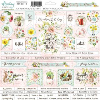 Mintay 12x12 Cardboard Stickers Beauty in Bloom