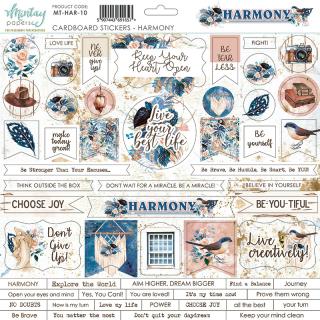 Mintay 12x12 Cardboard Stickers Harmony