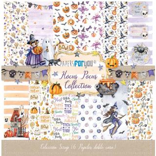 12x12 Inch Scrapbooking Paper Pack Hocus Pocus