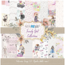 12x12 Inch Scrapbooking Paper Pack Trendy Girl