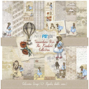 12x12 Inch Scrapbooking Paper Pack Somewhere over the...