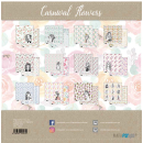 12x12 Inch Scrapbooking Paper Pack Carnival Flowers