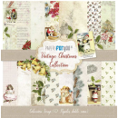 12x12 Inch Scrapbooking Paper Pack Vintage Christmas