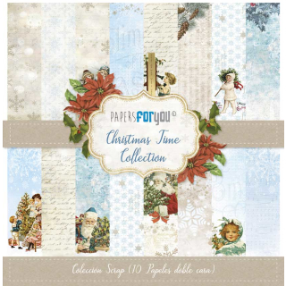 12x12 Inch Scrapbooking Paper Pack Christmas Time