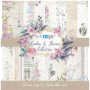 12x12 Inch Scrapbooking Paper Pack Ladies & Flowers