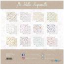12x12 Inch Scrapbooking Paper Pack Piu Bella Aquarella