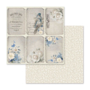 Stamperia 12x12 Inch Paper Pack  New England
