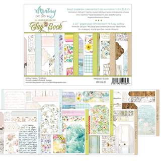 Mintay 6x8 Paper Pad Tags Book