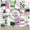 12x12 Inch Scrapbooking Paper Pack With Flying Colors