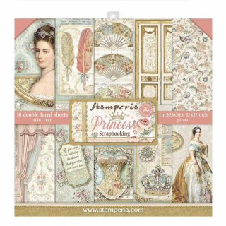 Stamperia 12x12 Inch Paper Pack Princess