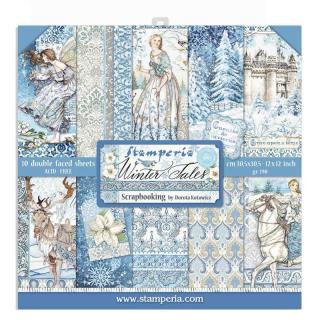 Stamperia 12x12 Inch Paper Pack Winter Tales