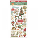 Stamperia Chipboard 15x30 cm Classic Christmas