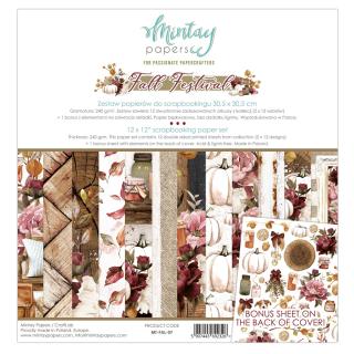 Mintay 12x12 Paper Pad Fall Festival