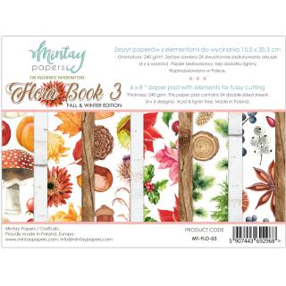 Mintay 6x8 Paper Pad Flora Book 03