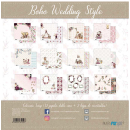 12x12 Inch Scrapbooking Paper Pack Wedding Boho Style