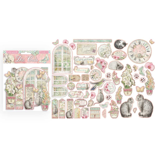 Stamperia Die-Cuts Orchids and Cats