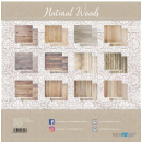 12x12 Inch Scrapbooking Paper Pack Natural Woods