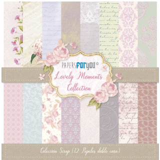 12x12 Inch Scrapbooking Paper Pack Lovely Moments