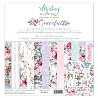 Mintay 12x12 Paper Pad Graceful