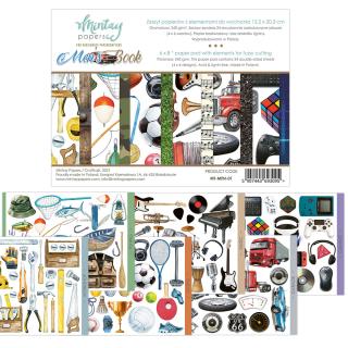 Mintay 6x8 Paper Pad Men´s Book