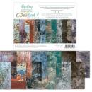 Mintay 6x8 Grunge Paper Pad Basic Book #04