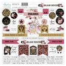 Mintay 12x12 Cardboard Stickers Glam Rock