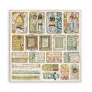 Stamperia 12x12 Inch Paper Pack Atelier des Arts
