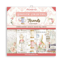 Stamperia 12x12 Inch Paper Pac  Romantic Threads