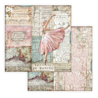 Stamperia 8x8 Inch Paper Pack Passion
