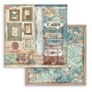 Stamperia 8x8 Inch Paper Pack Atelier des Arts