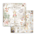 Stamperia 8x8 Inch Paper Pack Romantic Threads
