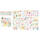 Stamperia Die-Cuts Circle of Love Flowers