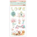Stamperia Chipboard 15x30 cm Circle of Love