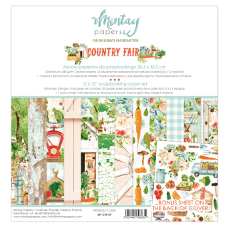 Mintay 12x12 Paper Pad Country Fair