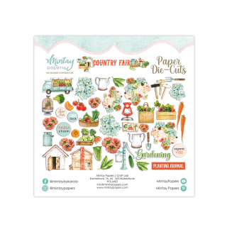 Mintay Papers Die Cuts Country Fair