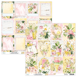 Mintay Papers 12x12 Blatt Vacation Cards