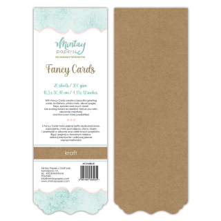 Mintay Papers Fancy Cards Kraft 01